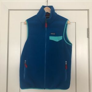 Men's Patagonia Synchilla snap T vest